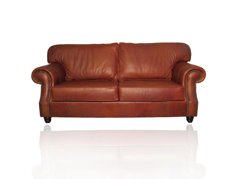 Manhattan Leather Couch