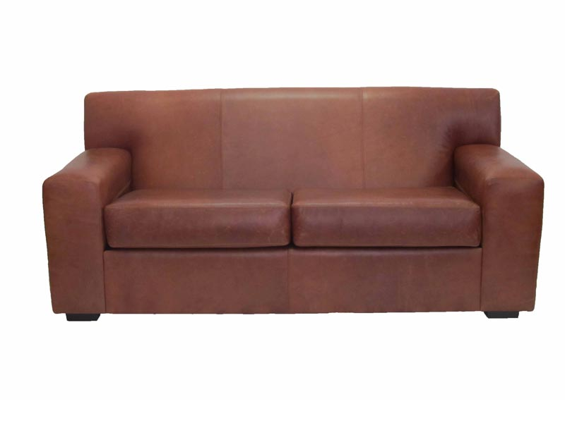 Seaton Leather Couch