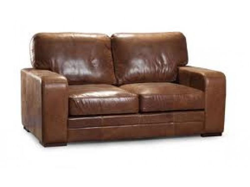 Bradford Leather Couch